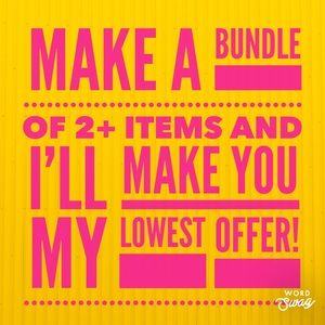 Other - That's right! Lowest offer!